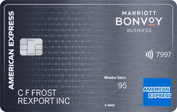 Marriott Bonvoy Business™American Express® Card