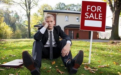 Image result for slimy real estate agent