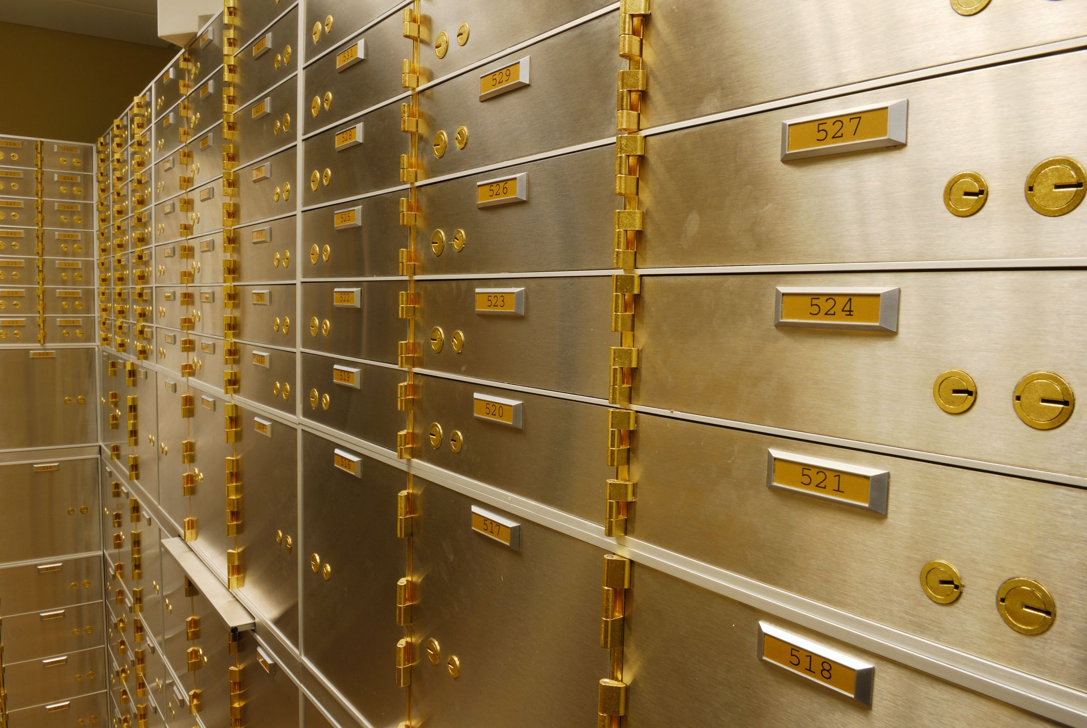 Using Safety Deposit Boxes to Store Important Papers