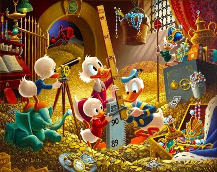 investing lessons from scrooge mcduck