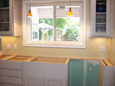 Install Kitchen Cabinets. Kitchen Remodel Steps