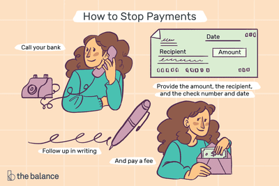 See What Happens When You Stop Payment on a Check