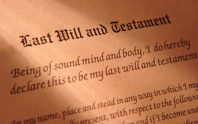 Is your last will and testament legally binding a last will and testament document solutioingenieria Images