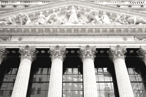 An image of the New York Stock Exchange