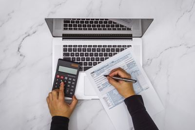 Tax Forms and Computer