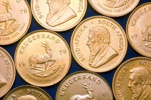 South African Krugerrand Gold Pieces