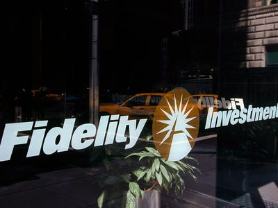 Fidelity Investments Building Window