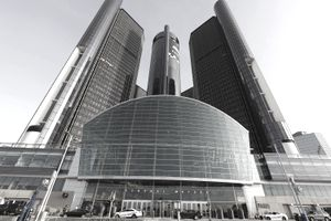 Exterior of General Motors headquarters building. Many investors profited from the company's past financial troubles