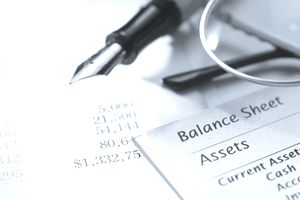 Current Assets on a balance sheets shows a company's cash and cash equivalents