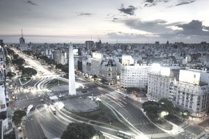 Argentinean cityscape