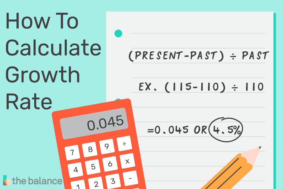 how to calculate growth rate
