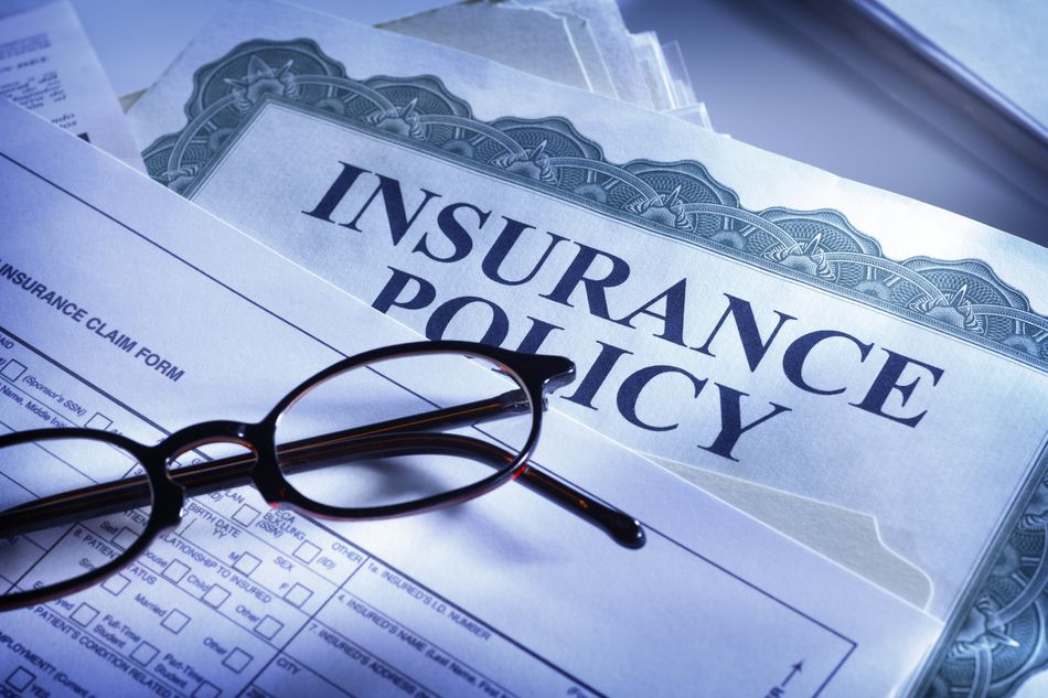 Insurance claim form and insurance policy