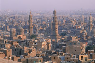Aerial view of Egypt, Cairo, Old City
