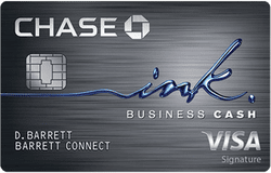 Ink Business Cash credit card