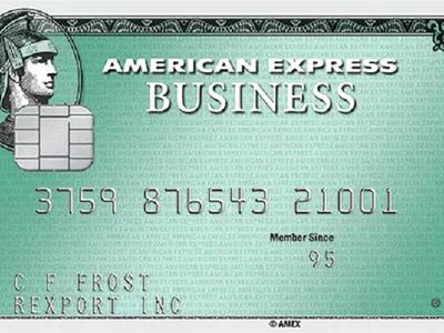 Business Green Rewards Credit Card from American Express