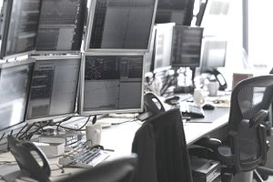 Day trading at a proprietary trading firm