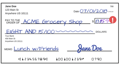 Tips For Writing A Check
