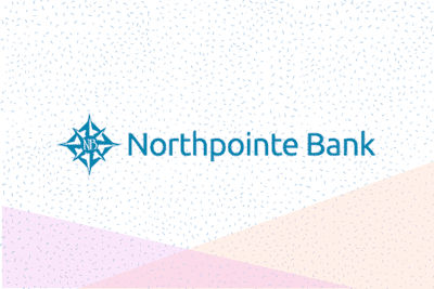 Northpointe Bank logo on graphic background