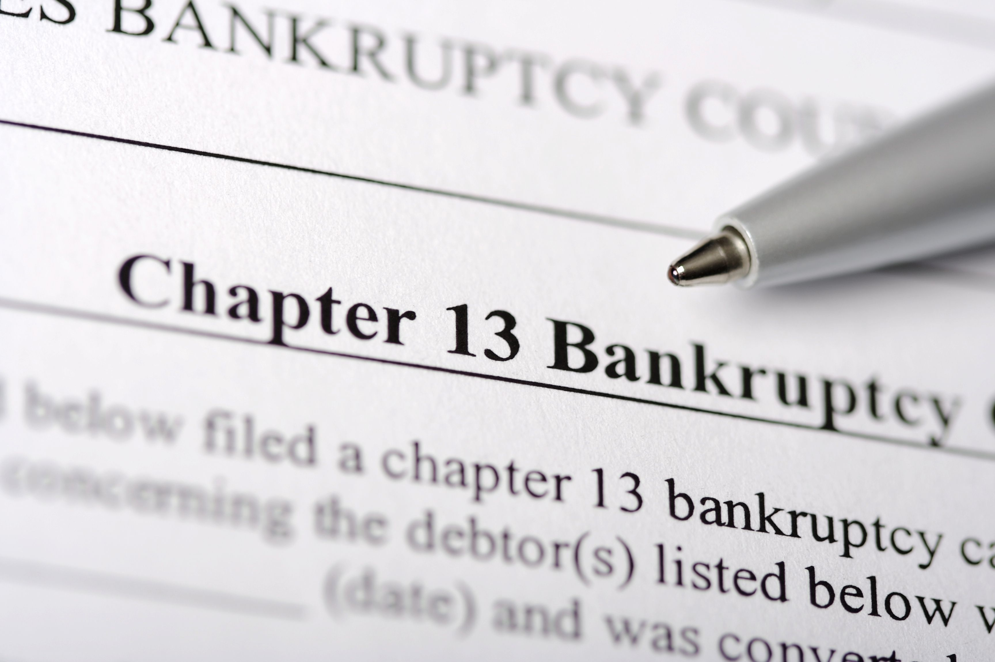 how bankruptcy exemptions affect chapter 13 and chapter 11 cases