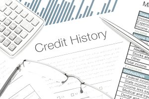 Your credit history applies directly to your credit score, and applying for loans is a form a credit.