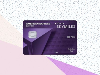 Delta SkyMiles Reserve Business Card on background