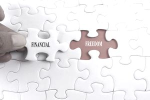 The missing piece (or trait) in debt-free living is financial freedom that people have