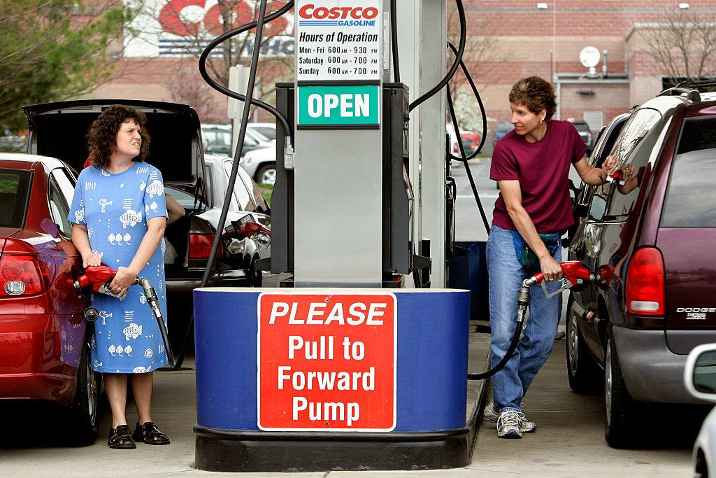 Customers reacting to high gas prices