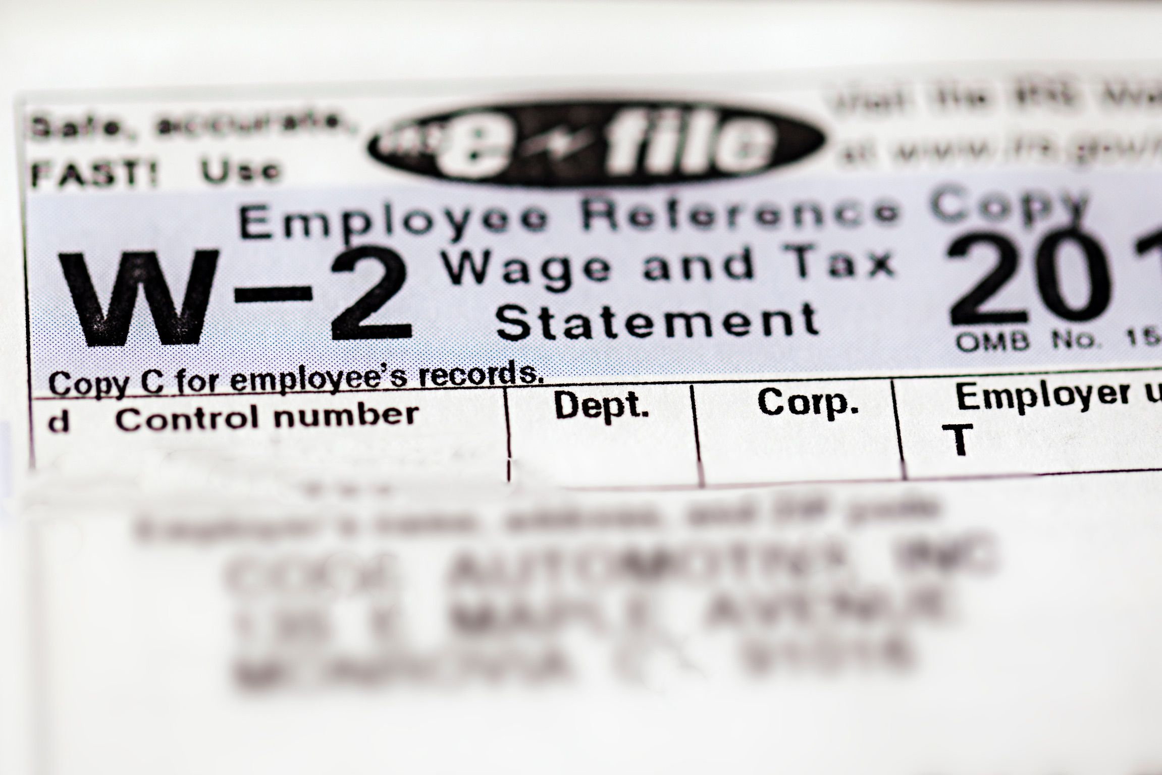 Understanding the Information Included on Form W-2