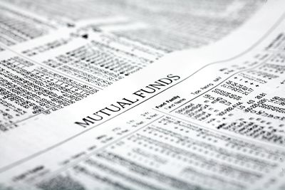 Mutual funds section