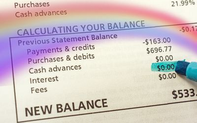 average daily balance finance charge calculation