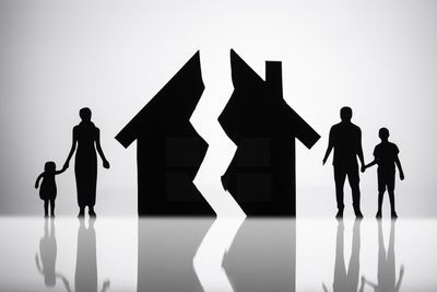 Separation of family with a broken house