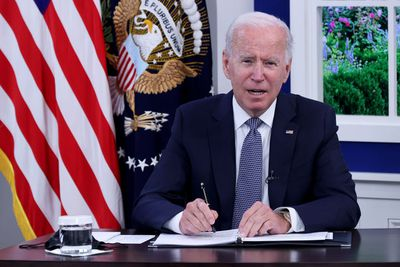 President Biden Meets With Business Leaders On Debt Ceiling