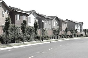 Houses waiting for investors to purchase them