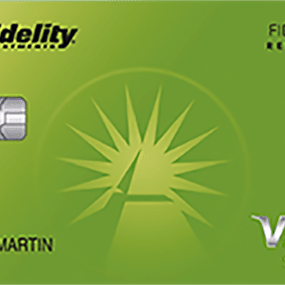 fidelity investments world points credit card