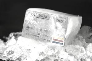 Frozen Credit Card