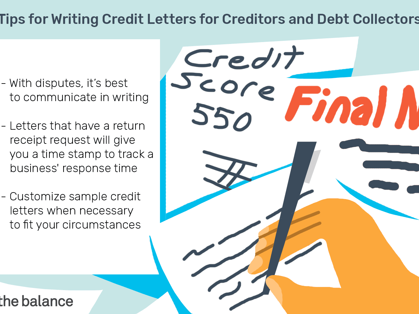 Sample Letter To Dispute A Debt from www.thebalance.com
