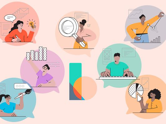 The Balance About Us_Recirc Animated People Doing Financial Tasks