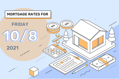 Mortgage Rates for Friday, October 8, 2021