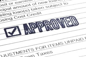 An approved installment loan application