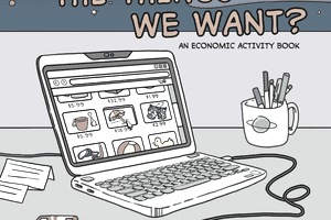 The cover of the Fed's latest addition to its educational comic book series.