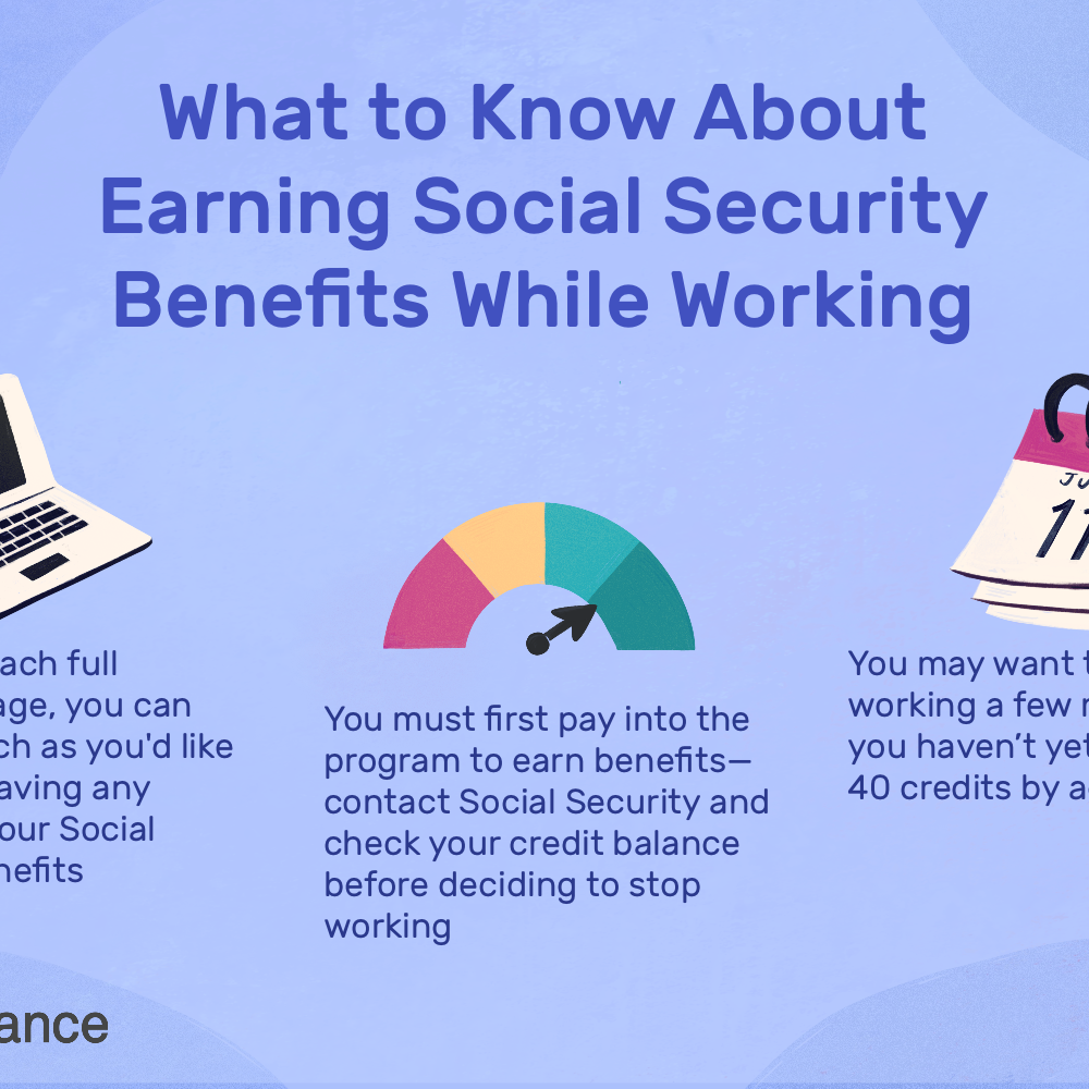 Social Security Retirement Benefits While Working