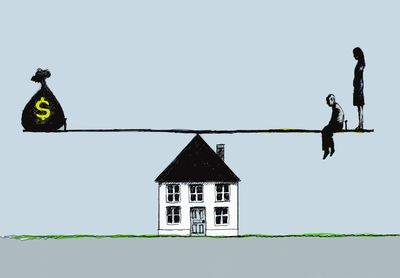 the balancing act of home buying