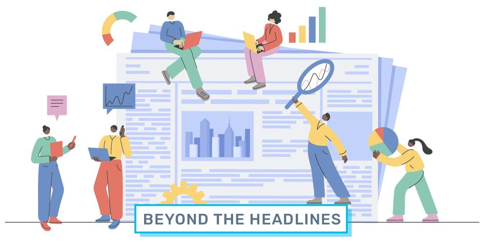 Beyond the Headlines illustration