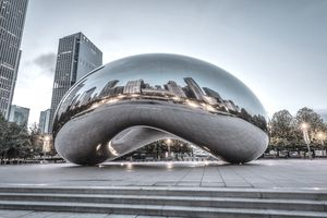 The Bean in Blue