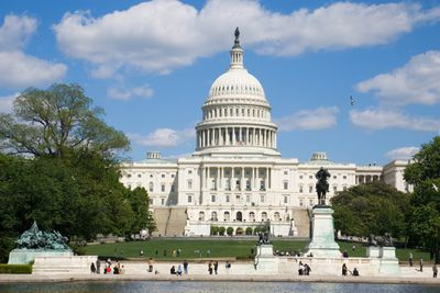The US Capitol Building in Washington D.C.
