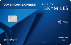 Delta SkyMiles® Blue Card