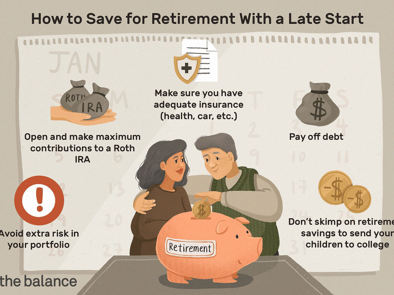 7 Tips For Saving For Retirement If You Started Late