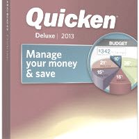 Quicken 2013 Deluxe box shot.