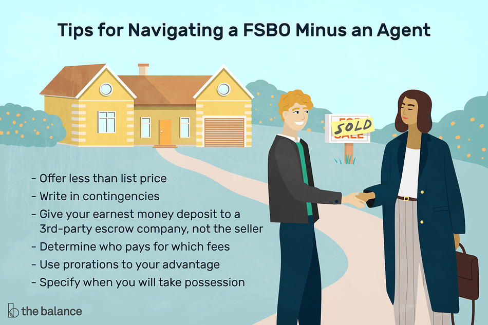 Tips for navigating a FSBO without an agent.