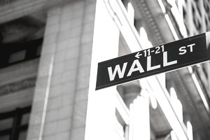 USA, New York, Manhattan, Wall street sign